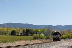 Blue Ridge Beauty (nrvtrains) Tags: coal sunny 756 load whitethornedistrict norfolksouthern riverside salem virginia unitedstates us