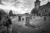 At Rest (downstreamer) Tags: inverness scotland bw graveyard unitedkingdom gb