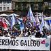Manifestación na defensa do galego polo #DiadasLetras2018