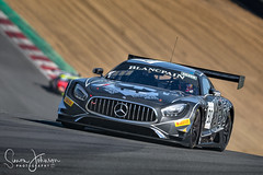 """"""" Oh Lord, won't you buy me a Mercedes Benz. """" (simonjohnsonphotography.uk) Tags: pirelli blancpain brandshatch nikonmotorsport jackmanchester motorsportphotography nicobastian mercedesamggt3 simonjohnsonphotography nikon motorsport druids akkaaspteam racing"""