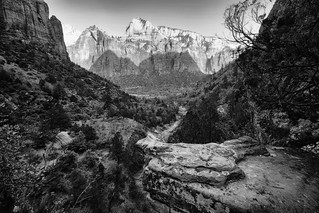 Zion In Monochrome