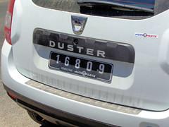 Number Plate from Vanuatu (CooverInAus) Tags: port shefa vanuatu number license registration motor vehicle automobile plate dacia duster vila