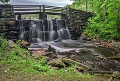 Cascading (JMS2) Tags: spillway dam cascade waterfall slowshutter blurred bridge park yonkers tibbettsbrook