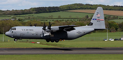 08-5715 (PrestwickAirportPhotography) Tags: egpk prestwick airport usaf united states air force c130j 085715 317aw dyess mobility command