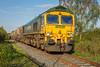 66_610_TrenchLock_01_05_18 (chrisbe71) Tags: 6g73 66610 gm emd shed trench donnington telford hia jga freightliner