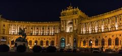 Wien 2017 - Hofburg (karlheinz klingbeil) Tags: nacht night architektur statue austria sculpture city skulptur vienna österreich stadt wien at