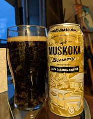 mmmm....beer (jmaxtours) Tags: mmmmbeer saltycarameltrufflebock saltycarameltruffle bock beer muskokabrewery bracebridgeontario bracebridge ontario