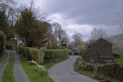 Intersection at Troutbeck (TERRY KEARNEY) Tags: intersectionattroutbeck intersection troutbeck trees flowers architecture buildingsarchitecture buildings buildingstructure skyline sky ambleside bowness lakedistrict cumbria canoneos1dmarkiv daylight day explore europe england kearney landscape nature oneterry outdoor street terrykearney urban wildlife 2018 roads pub shop church garden road grass tree
