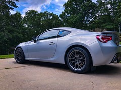 "Jake's 2013 Scion FR-S with 17"" ARC-8 Wheels (ApexRaceParts) Tags: frs ft86 86 brz arc8 17 silver"