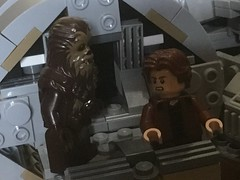 """""""One hundred and ninety years old? You look great!"""" (Unkar's Thug) Tags: lego star wars solo movie story"""