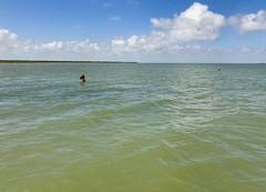 Wade Fishing West Bay (dixon1972) Tags: sanluispass galveston wadefishing