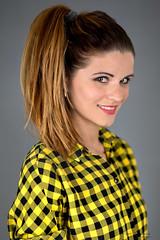 Smile (piotr_szymanek) Tags: paulina paulinach portrait studio woman young skinny face closeup eyesoncamera smile 1k 20f 50f 5k 10k 20k 100f milf 30k studiolight mature