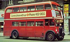 RT3065 (Deepgreen2009) Tags: rt3065 bus london red driver training victoria regentthree londontransport street classic