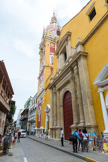 The Cathedral of Cartagena, Colombia