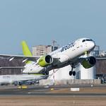Air Baltic Airbus A220-300 (Bombardier CS300) thumbnail