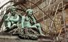 Angel sittings (Insher) Tags: sculpture kobenhavn copenhagen denmark danmark
