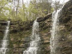 RED03041 (David J. Thomas) Tags: caves caving hiking speleology class students twinfalls camporr jasper waterfall creek stream karst arkansas lyoncollege