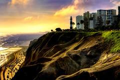 Sunset in Lima, Peru. (marekeos) Tags: peru lima southamerica latin travel traveling traveler sunset landscape scenery nice color colorful sea city capital peruvian ra