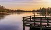 Vijver Sassenhein (Marga Vroom) Tags: sassenenhein thenetherlands vijver water steiger holland nederland trees lake sunset zonsondergang