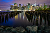 We wander for distraction, but we travel for fulfillment (Xavier Bornot) Tags: nyc long exposure d810 24mm manhattan hudson river