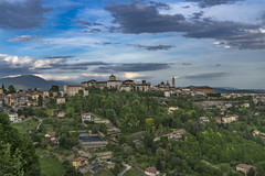 Bergamo alta (M-Gianca) Tags: bergamo sony a6500 zeiss panorama landscape montagna città city
