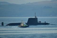 Royal Navy Asute Class Submarine (NYN03) Tags: sy submarine royalnavy astuteclass
