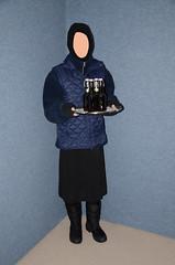 Slave Waitress (Warm Clothes Fetish) Tags: hijab burka chador niqab girl hot warm sweat torture fur coat winter anorak boots hat