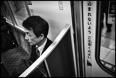 Chiyoda Line, Metro, Tōkyō (GioMagPhotographer) Tags: tōkyōto peopleclose metrotrain eastofthesun leicamonochrom japanproject japan metro subway tokyo tkyto underground