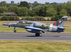 Czech Air Force Aero L-159 ALCA 6053 (AD572) (birrlad) Tags: fairford ffd airbase raf czech air force aero l159 l159a alca 6053 ad572 republic airshow aircraft aviation airplane airplanes takeoff departing departure runway airforce military combat fighter jet attack