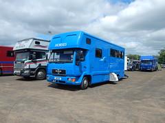 A8 GAW (Jonny1312) Tags: lorry truck man horsebox manhorsebox ballymena midantrimhorseshow scania