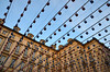 In sospeso (encantadissima) Tags: torino lampade diagonali palazzi piemonte