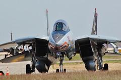 Grumman F14-A Tomcat  162591 (Bob Symes) Tags: tomcat f14a grumman 162591 navy usn jet quonset quonsetairmuseum f14 rhodeisland