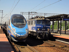 Alstom ED250, PKP IC & EP07-356, PKP IC (transport131) Tags: pociąg train gdynia główna pafawag ep07 pkp ic alstom ed250 eip