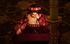 In nomine Patris (Laura Blues) Tags: secondlife fantasyfaire2018 fantasyfaire fantasy medieval renaissance lesencantades oblivion zurijewelry 7deadlys{k}ins arualbluesresident maitreya catwa bento