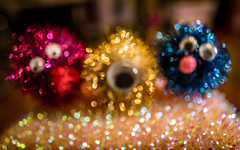 we are from the planet bokeh (Dotsy McCurly) Tags: venusopticslaowa15mmf4macro nikond750 fun crafty pompom wiggle eyes aliens sparkly bokeh catchthebokeh smileonsaturday