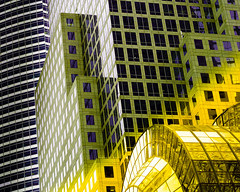 NY PriME TiME .. five! (m_laRs_k) Tags: gold purple nyc hss sliderssunday complementary prime 45mm worldfinancialcenter wfc 7dwf
