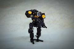 Police Bot (Apocalypse_Designs) Tags: lego legomech legomoc legospace cyberpunk legostarwars