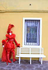 Mask Carnival Venice 2018 (MelindaChan ^..^) Tags: mask carnival venice italy 義大利 plat culture life 威尼斯 dress 意大利 chanmelmel mel melinda melindachan maskcarnivalvenice2018 cosplay burano