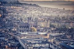 Bath landmarks (Nige H (Thanks for 12m views)) Tags: city cityscape landscape bath abbey bathabbey westcountry england southwestengland landmarks uk britain