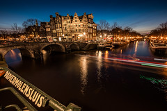 P1010309 (rpajrpaj) Tags: amsterdam bluehour thebluehour city canals