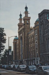 Altria Theater - Richmond Virginia - Former Shriners Mosque (Onasill ~ Bill Badzo - 56 Million Views - Thank Yo) Tags: henricocounty shriners masons masonic altria theatre richmond exterior va virginia united states america monroepark venue mosque landmark theater acca temple shrine minarets mystic palace entertainment nrhp historic 4600 seats lounges 42 hotel rooms members gymnasium restaurant pool swimming bowling alley grill 165 million stage popular murals ballroom old vintage photo hdr onasill