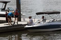 Mooring a Boat (dckellyphoto) Tags: washingtondc districtofcolumbia 2018 boat man woman women wharf