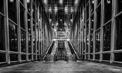 Subway Station (mcalma68) Tags: blackwhite rotterdam subway blijdorp architecture