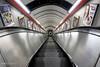 Tunnel Vision at Moorgate Station (Luke Agbaimoni (last rounds)) Tags: london londonunderground londontube train transportforlondon trains tfl tunnel escalator