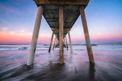 Hermosa Beach Pier (IzTheViz) Tags: hermosa california losangeles pier sunrise hermosabeach pacific ocean shore variotessartfe41635 jetty