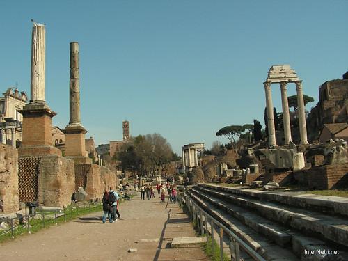 Римський форум, Рим, Італія InterNetri Italy 510