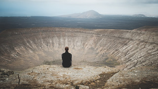 Lanzarote - Sitting on a volcano.