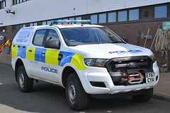 EY67 CYA (S11 AUN) Tags: northumbria police ford ranger marine unit rpu roads policing motor patrols traffic car 999 emergency vehicle ey67cya