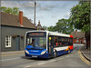 36207, Dunchurch (Jason 87030) Tags: bus e200 enviro stagecoach midlands wave driver leamingtonspa dunchurch warks warwickshire duncow 64 service route red white blue orange pub street may 2018 sony alpha a6000 ilce nex tag lens transport