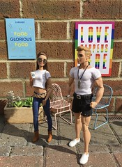 London Life (MaxxieJames) Tags: vittoria belmonte bastian hunter doll dolls barbie ken mattel made move fashion fashionista